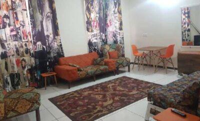 اجاره روزانه آپارتمان تهران ۵۰ متری قصرالدشت طبقه سوم