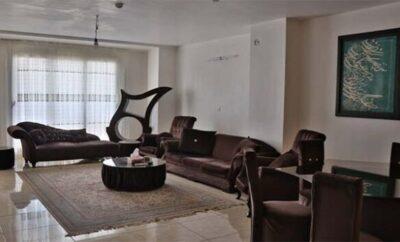 اجاره روزانه خانه اصفهان آپارتمان مبله ۱۲۰ متری لوکس و شیک نوساز