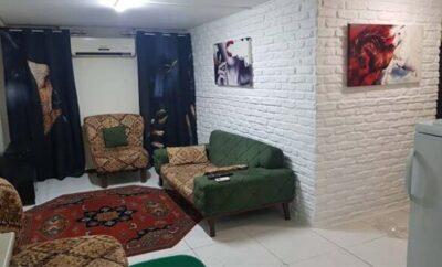 اجاره روزانه آپارتمان تهران ۴۵ متری قصرالدشت همکف