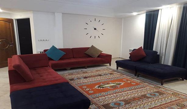 اجاره آپارتمان مبله میرداماد سه خواب طبقه دوم جنوبی به صورت روزانه