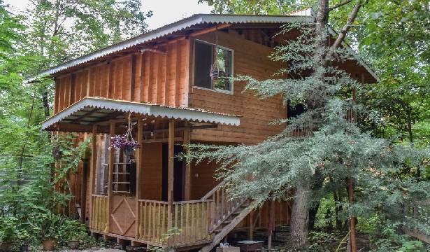 اجاره کلبه چوبی ۷۰ متری در ماسال سیاهدول