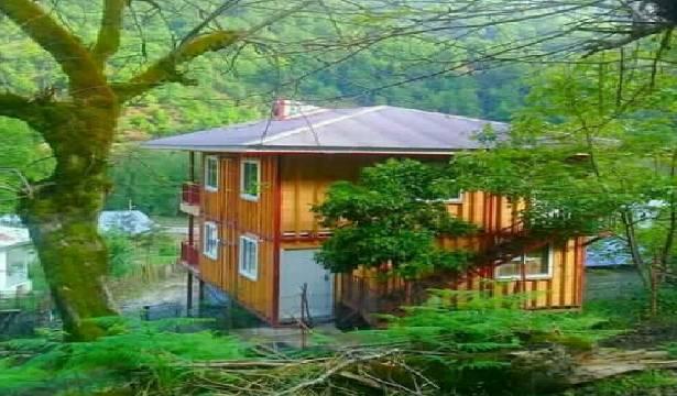 اجاره ویلا چوبی ۶۰ متری طبقه دوم در ماسال با امکانات رفاهی