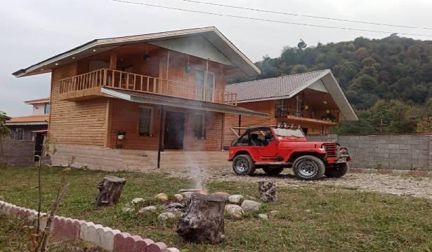 اجاره ویلا چوبی دوبلکس تراس دار در ماسال