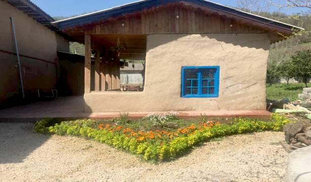 اجاره اقامتگاه بوم گردی حاج حسین پرویزی کلبه کاهگلی