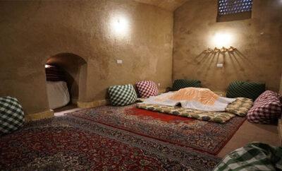 اقامتگاه سرای آقامحمد کاشان اتاق سرداب